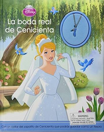 Papel Disney - La Boda Real De Cenicienta - Con Colgante - Grande