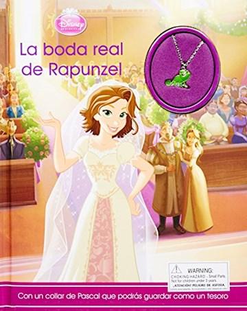 Papel Disney - La Boda Real De Rapunzel - Con Colgante - Grande