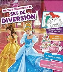 Libro Disney Princesa Magia Y Encanto En El Set De Diversion