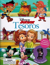Libro Libro Disney Junior Tesoros