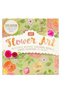 Papel FLOWER ART BEAUTIFUL BOTANIC COLORING BOOK AND PAPER FLOWERS TO CRAFT (MAKER CRAFTS) (CAJA)