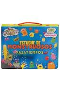 Papel ESTUCHE DE MONSTRUOS PASATIEMPOS (INCLUYE 4 LIBROS + 500 STICKERS ESPELUZNANTES) (EN CAJA)