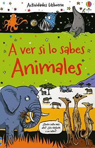 Papel A Ver Si Lo Sabes: Animales