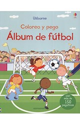 Papel ALBUM DE FUTBOL - COLOREO Y PEGO