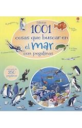 Papel 1001 COSAS QUE BUSCAR EN EL MAR CON PEGATINAS