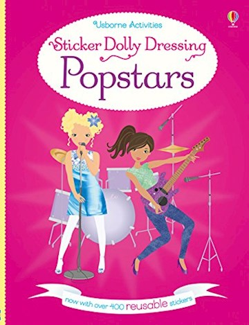 Papel Sticker Dolly Dressing: Popstars