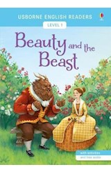 Papel Beauty and the Beast - Usborne English Readers Levels 1