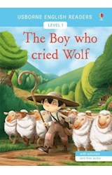 Papel The Boy who Cried Wolf - Usborne English Readers Level 1