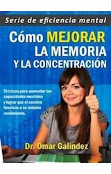 E-book Cómo mejorar la memoria y la concentración