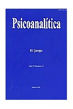 Revista PSICOANALITICA N§ 11 (EL JUEGO)