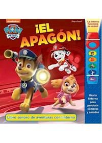 Papel Paw Patrol El Apagon - Libro Sonoro De Aventuras Con Linterna
