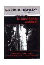 Papel REVISTA DEL PSICOANALISIS 18 (LA EXPERIENCIA ANALITICA)