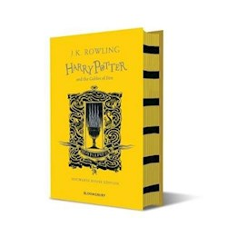 Papel Harry Potter And The Goblet Of Fire - Hufflepuff Edition (Hardback)