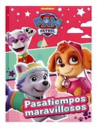 Libro Paw Patrol  Pasatiempos Maravillosos