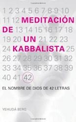 Libro Meditacion De Un Kabbalista