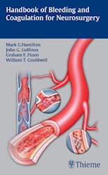 Papel Handbook Of Bleeding And Coagulation For Neurosurgery