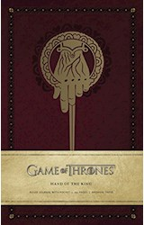 Papel Game of Thrones: Hand of the King Hardcover Ruled Journal (Insights Journals)