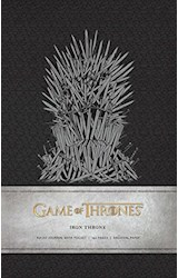 Papel Game of Thrones: Iron Throne Hardcover Ruled Journal (Insights Journals)