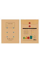 Papel The Pocket Pack: 4 Assorted Notebooks