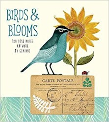 Papel Birds & Blooms Desknotes