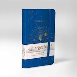 Papel Harry Potter: Ravenclaw Constellation Ruled Pocket Journal