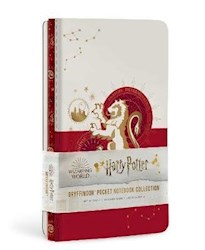 Papel Harry Potter: Gryffindor Constellation Sewn Pocket Notebook Collection (Set Of 3)