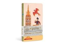 Papel Harry Potter: Exploring Hogwarts Sewn Pocket Notebook Collection (Set Of 3)
