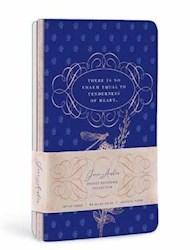 Papel Jane Austen Pocket Notebook Collection (Set Of 3)