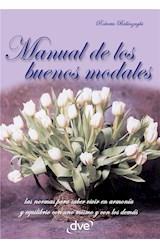E-book Manual de los buenos modales
