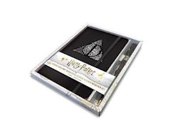 Papel Harry Potter: Deathly Hallows Hardcover Ruled Journal (With Pen)