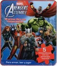 Libro Avenger Leer Y Jugar
