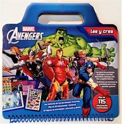 Libro Avengers Lee Y Crea