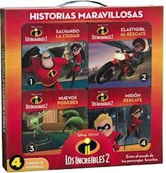 Libro Los Increibles 2 Historias Maravillosas (Estuche Con Manija De Platico)