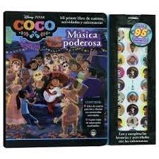 Libro Coco Musica Poderosa .Incluye Calcomanias