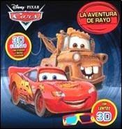 Papel CARS LA AVENTURA DE RAYO (CON LENTES 3D) (CARTONE)
