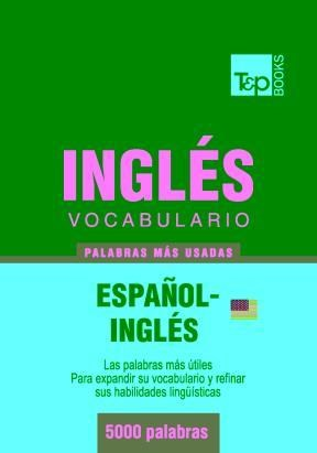 E-book Vocabulario Español-Inglés Americano - 5000 Palabras Más Usadas