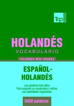 E-book Vocabulario Español-Holandés - 5000 Palabras Más Usadas
