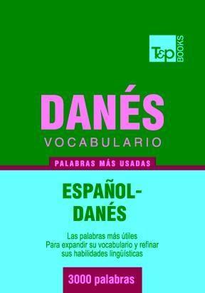 E-book Vocabulario Español-Danés - 3000 Palabras Más Usadas