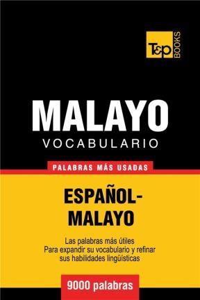 E-book Vocabulario Español-Malayo - 9000 Palabras Más Usadas