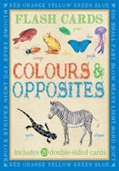Papel Animal Flashcards: Colours & Opposites