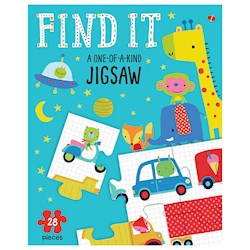 Papel Find It A One-Of-A-Kind Jigsaw And Book