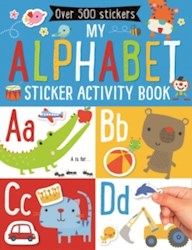 Papel My Alphabet Sticker Activity Book