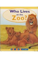 Papel WHO LIVES AT THE ZOO (3-5 YEARS) (CARTONE)