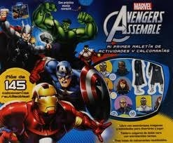 Libro Avengers Assemble Mi Primer Maletin De Actividades Y Calcomanias
