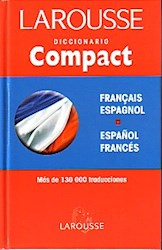Papel Diccionario Compact Español Frances Larousse