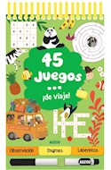 Papel 45 JUEGOS DE VIAJE (CARTONE ANILLADO)