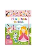 Papel PRINCESAS Y HADAS (INCLUYE UN CUADERNO CON ESCENARIOS PARA DECORAR + 230 PEGATINAS)