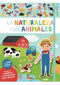 Papel Libros De Stickers: La Naturaleza Y Los Animales