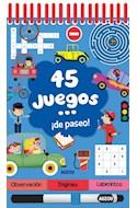 Papel 45 JUEGOS DE PASEO (CARTONE ANILLADO)
