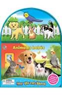 Papel ANIMALES BEBES (COLECCION MINI DIVERTILIBROS) (INCLUYE 4 ANIMALES + ESCENARIO) (CARTONE)